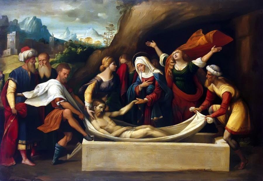 Garofalo (1520), Kristov ukop