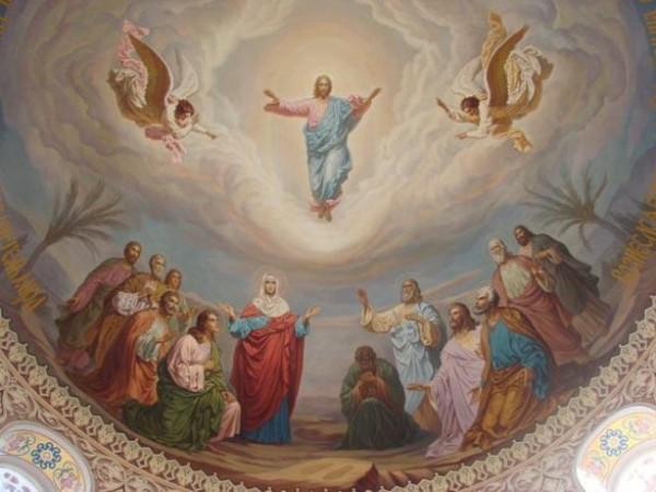 Isusovo uzašašće na nebo