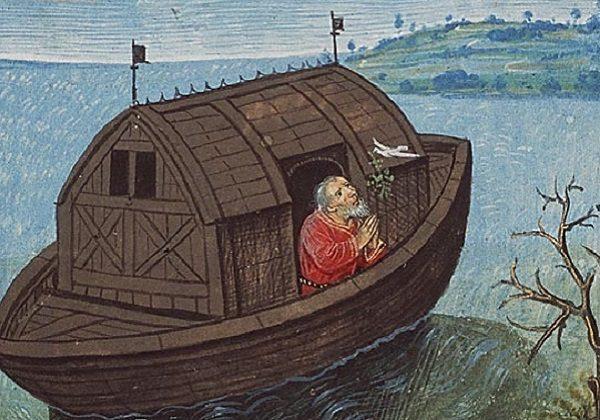 Egidij Roya, Noa pušta golubicu iz korablje