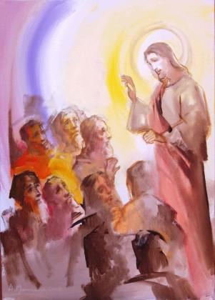 11-Isus salje apostole