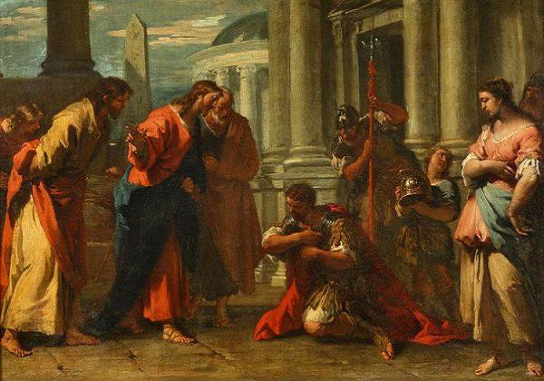 Isus ozdravlja satnikovog slugu