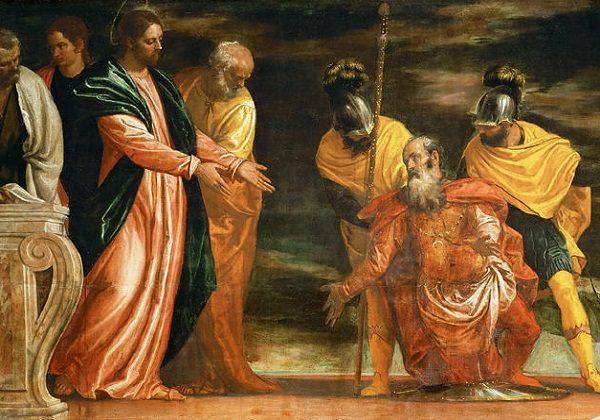 Paolo Veronese, Isus ozdravlja satnikovog slugu
