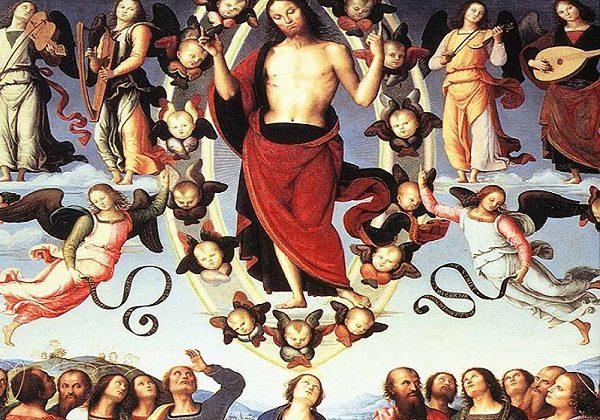 Pietro Perugino, Uzašašće Gospodinovo