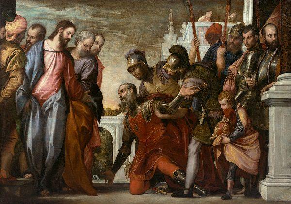 Satnik moli Isusa da mu ozdravi slugu
