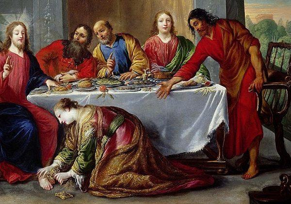 Claude Vignon, Isus na gozbi kod Šimuna farizeja