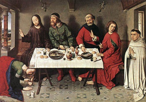 Isus na gozbi kod Šimuna farizeja