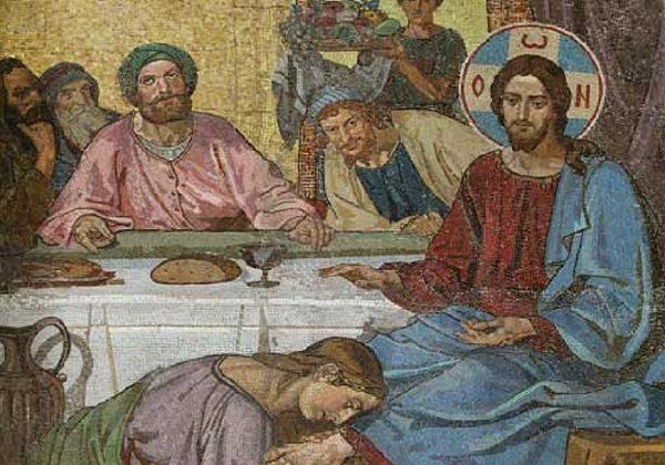 Isus na gozbi kod farizeja Šimuna