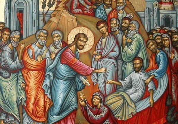 Isus uskrisuje sina udovice iz Naina