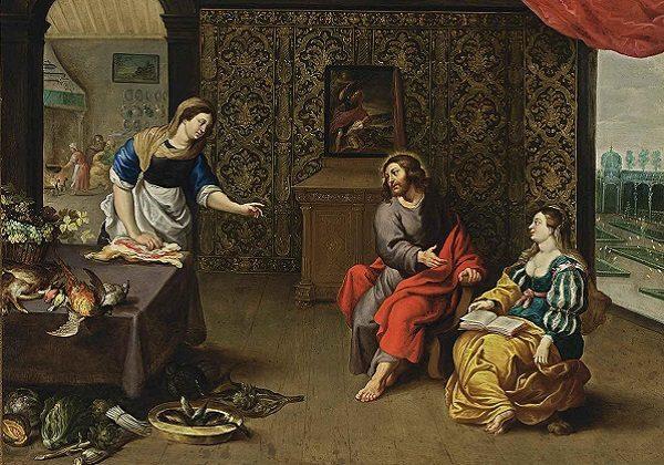 Erasmus Quellinus, Marta i Marija