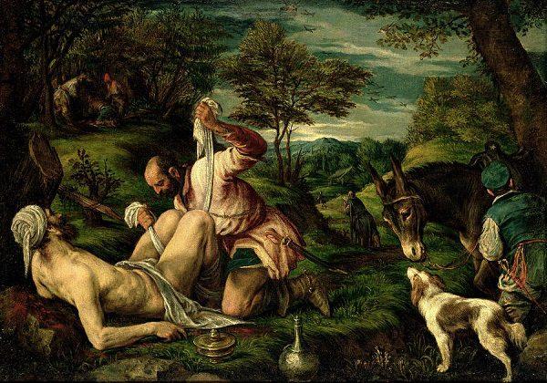 Francesco Bassano, Prispodoba o milosrdnom Samarijancu