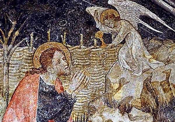 Giacomo Jaquerio, Isus moli u Getsemanskom vrtu