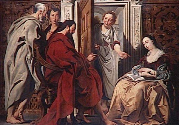 Isus kod Marte i Marije