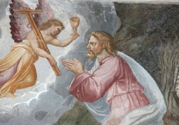 Isus moli u Getsemanskom vrtu