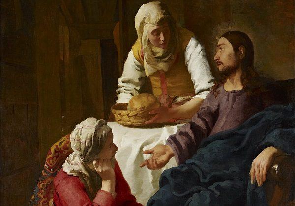 Johannes (Jan) Vermeer, Isus u kući Marte i Marije