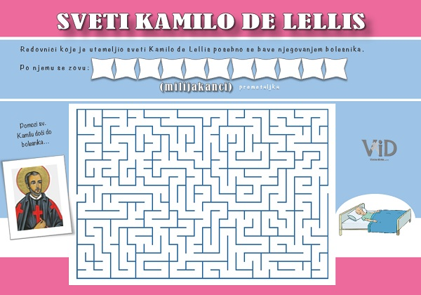 sv. Kamilo de Lellis