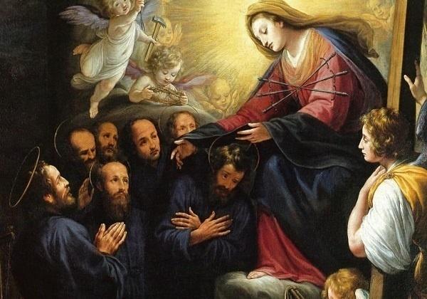 Sedam svetih osnivača Reda slugu Blažene Djevice Marije