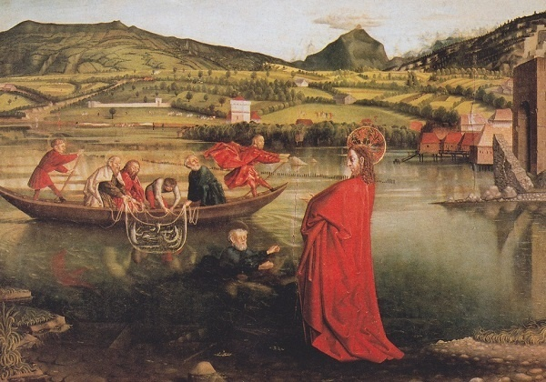 Čudesni ribolov – mreža ljubavi (recitacija za prvu pričest)