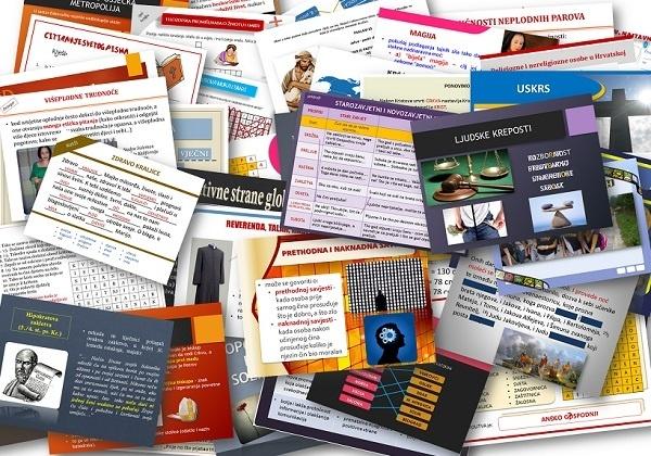 Radni listovi i nastavni materijali za srednjoškolski Vjeronauk