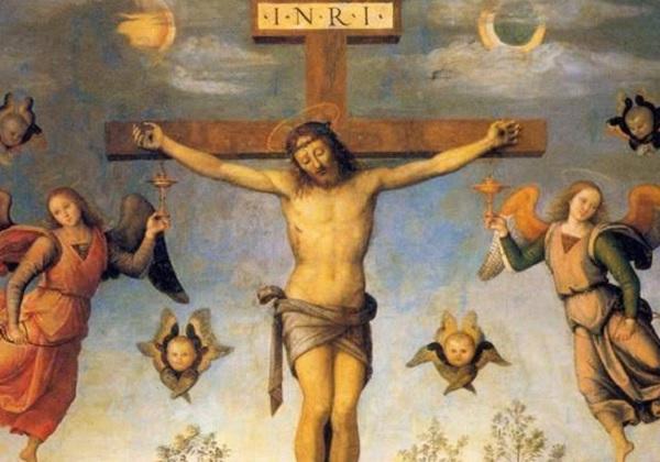 Ti si, Bože moj, najljepši cvijet na križu!