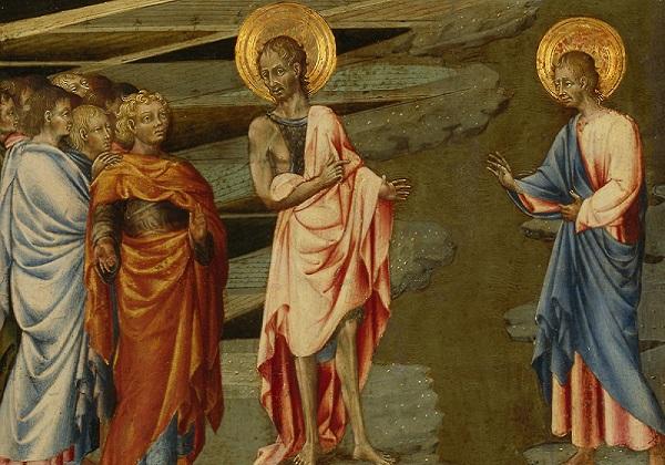 Krstitelj, Krist i početak Crkve (Iv 1, 19-51)