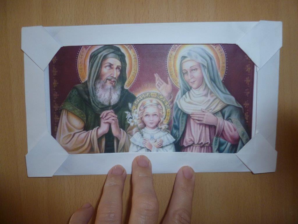 Sveti Joakim i Ana – slika s okvirima