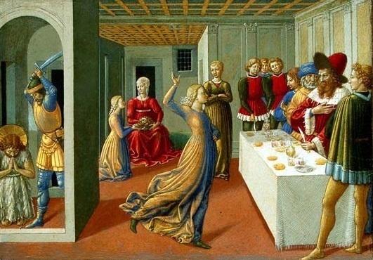 Mučeništvo svetog Ivana Krstitelja