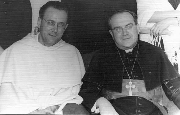 Kupareo i nuncij u Čileu Sebastiano Baggio 14.12.1956