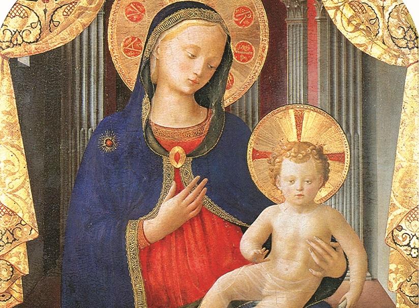 Angelico Madonna_col_bambino sabauda