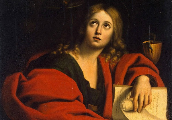 Sveti Ivan, ljubljeni učenik