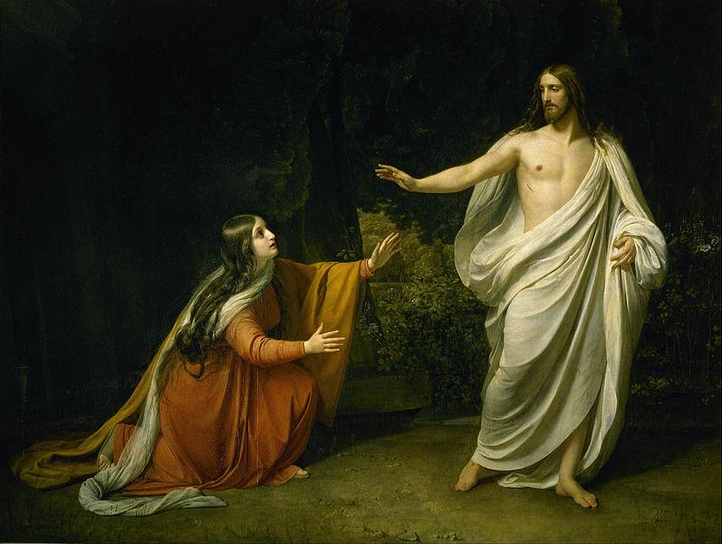 Alexander Ivanov, Krist se ukazuje Mariji Magdaleni nakon uskrsnuća