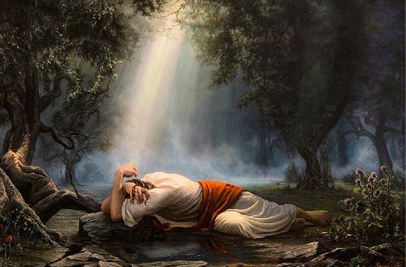 Isus u Getsemanskom vrtu