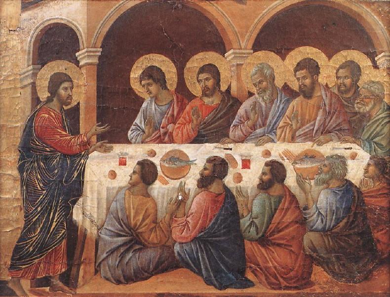 Duccio di Buoninsegna, Isus se ukazuje učenicima