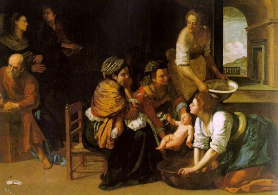 Artemisia Gentileschi, Rođenje svetog Ivana Krstitelja