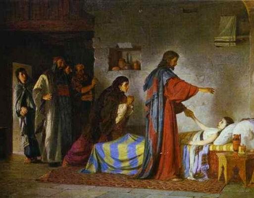 Vasilij Polenov, Uskrisenje Jairove kćeri