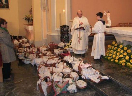 Blagoslov jela na Uskrs