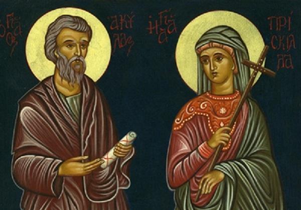 Sveti Priscila i Akvila