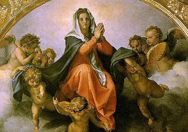 Ususret svetkovini Uznesenja Blažene Djevice Marije