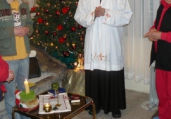 Blagoslov kuća i obitelji u božićnom vremenu