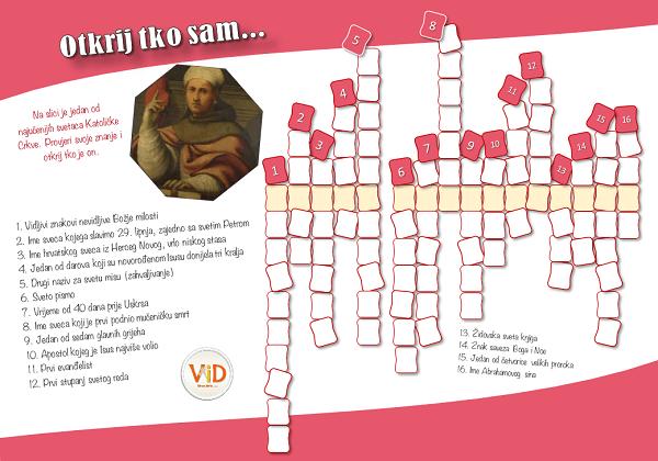 Sveti Bonaventura – radni list