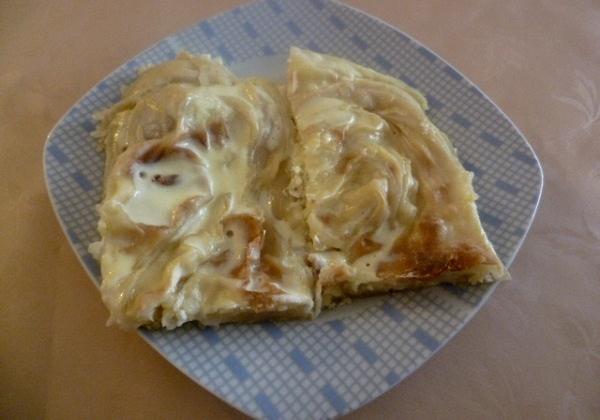 Pita s tikvicama i sirom