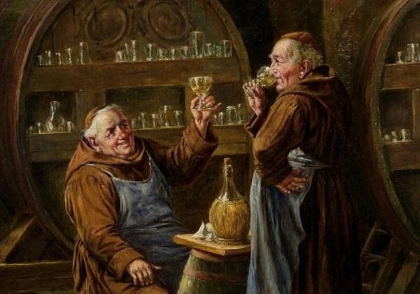 Za svećeničkim stolom