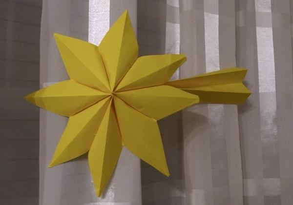 Zvijezda repatica od papira