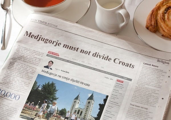 "A commentary on the text: ""Medjugorje must not divide Croats"""
