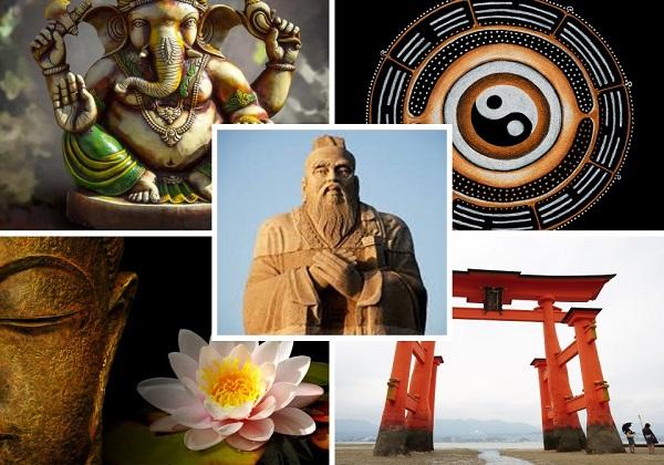 Politeističke religije i religije bez božanstva i osobnoga Boga