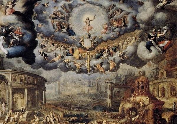 Jean Cousin Mlađi, Posljednji sud (detalj) – Vjera i djela