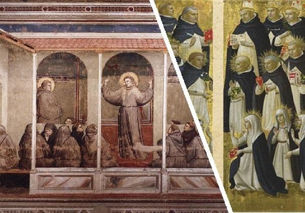 Procvat kršćanstva u 12. i 13. st.: franjevci i dominikanci