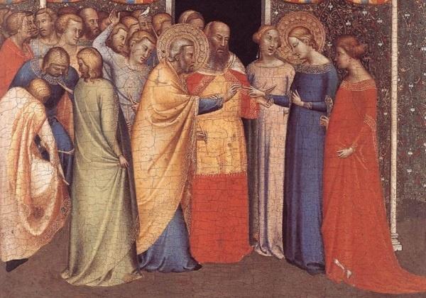 Sklapanje ženidbe u prvoj Crkvi