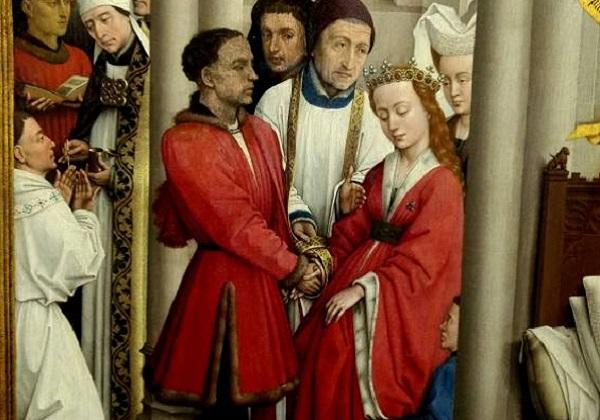 Obred sklapanja ženidbe nakon Tridentskog sabora