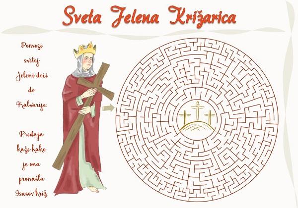Sveta Jelena Križarica – radni list