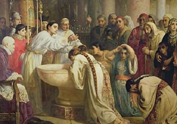 Kršćanska inicijacija od 10. st. do Drugog vatikanskog sabora